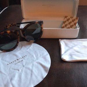 Karen Walker harvest sunglasses (tortoise/black)